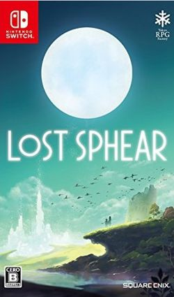 Lost Sphear Japanese Nintendo Switch