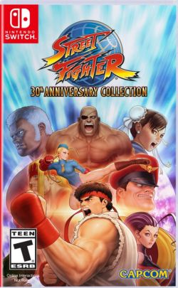 Street Fighter: 30th Anniversary Collection US English NS - Click Image to Close