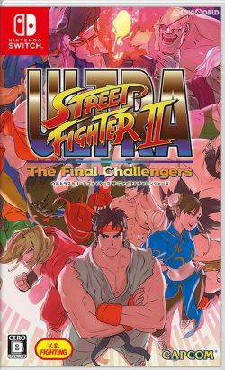 Ultra Street Fighter II: The Final Challengers Chinese sub NS