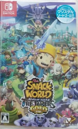 The Snack World: Trejarers Gold Japanese NS