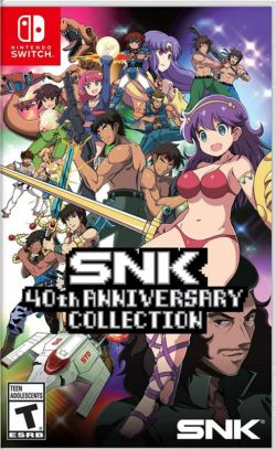 SNK 40th Anniversary Collection US NS