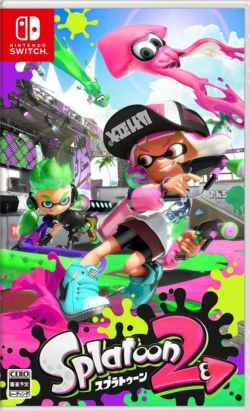 Splatoon 2 Japanese subtitle NS