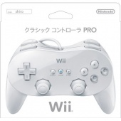 Wii Classic Controller Pro (White) - Click Image to Close