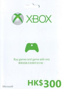 Xbox Gift Card (HKD 300) (Email shipping)