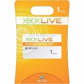 Xbox Live 1 month Gold Member Worldwide (Email Free Shipping)