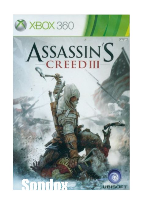 Assassin's Creed III XBOX360