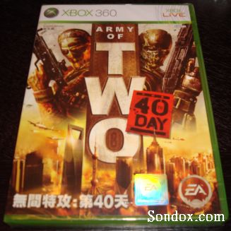 Army of Two: The 40th Day XBOX360