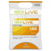 Xbox Live Points (1,400 points) For Japan A/C (Email Ship)